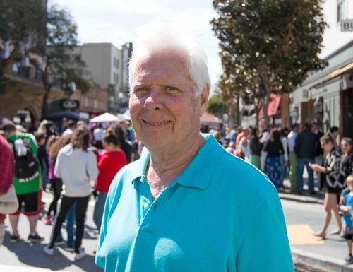 Event organizer Dennis Beckman