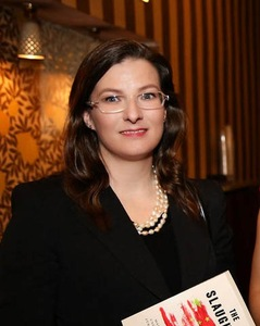 Swiss Falun Dafa practitioner Simone Schelgel