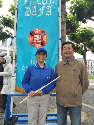 Mr. James Qiu thanked Falun Gong for healing his mother's insomnia and improving his temper.