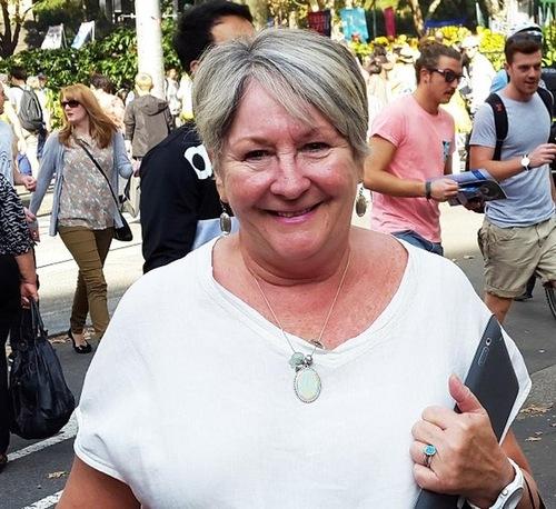 Cara Agttra said she hopes everyone can know about Falun Dafa.
