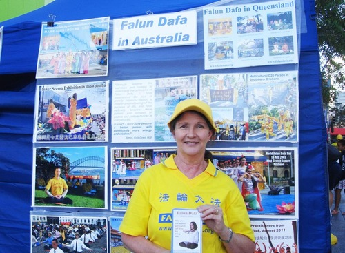 "Amanda, who started practicing Falun Gong in 1999, said that besides gaining good health, she has gained more inner peace in this busy modern society. ""I cannot imagine my life without Falun Gong. It has given me the most wonderful life,"" she said."