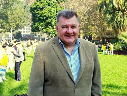 Australian MP Craig Kelly said he is very happy to see so many people at the event.