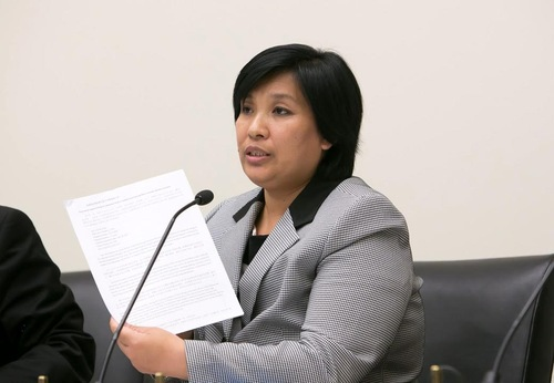 Ms. Yin Liping was gang-raped in the notorious Masanjia Forced Labor Camp. She submitted the names of 42 perpetrators.