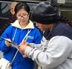 More than 160 people signed a petition calling to end the persecution of Falun Dafa in China.