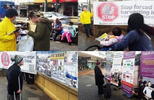 People from all walks of life offer support for Falun Gong.