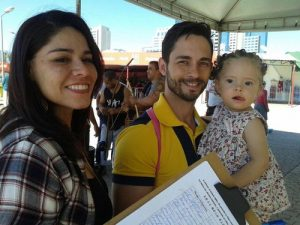 "A couple from Brasilia signed the petition condemning the persecution. ""Everybody needs truthfulness, compassion, and forbearance,"" the husband said."