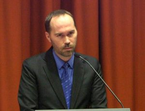 Australian human rights lawyer Nathan Kennedy