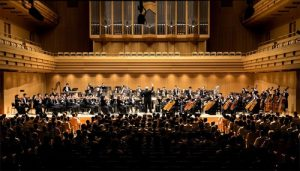 The Shen Yun Symphony Orchestra debuts its Asia Tour at the Tokyo Opera City Concert Hall with a matinee performance on September 15, 2016.