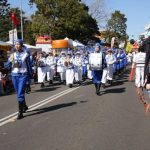 """Falun Dafa practitioners attended the parade at the """"Spring into Corrimal"""" Family Festival on September 11, 2016."""
