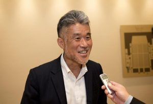 Takao Toda, director general of Human Development Department at the International Cooperation Agency of Japan (JICA)