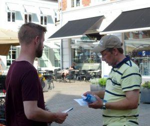 Mikkel hopes to find spiritual guidance in Falun Dafa.