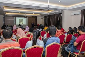 Documentary film Human Harvest shown in Batam, Indonesia.
