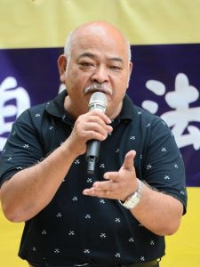 Tsang Kin-shing hopes that Falun Gong practitioners can freely practice their belief in mainland China soon.