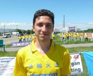 Davide, 22, from Milan.