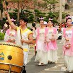 Falun Dafa practitioners attended in Fun Guandu Festival in Taipei on October 29, 2016.
