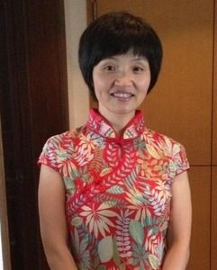 Ms. Ye Jinyue from Taizhou City, Zhejiang Province. Detained in Police custody simply because she was clarifying the truth about the persecution of Falun Gong in China.