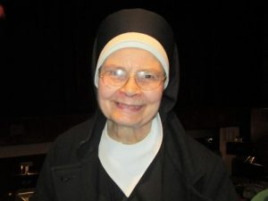 Sister Mary at the California Center for the Arts, Escondido on January 20, 2017