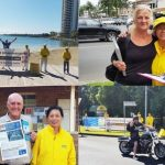 Australian people from various walks of life support Falun Gong practitioners' efforts to raise awareness of the ongoing persecution in China.