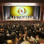 Shen Yun's New York Company at the ROHM Theatre Kyoto in Kyoto, Japan on January 26, 2017.
