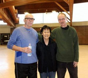 Patrick (left) was able to quit smoking after 53 years thanks to his practice of Falun Gong.