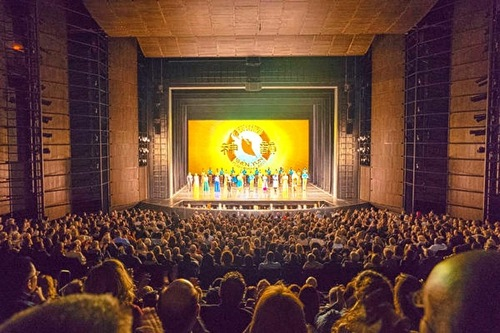 Matinee performance by Shen Yun Performing Arts' World Company at the Harris Theater in Chicago on February 19, 2017.