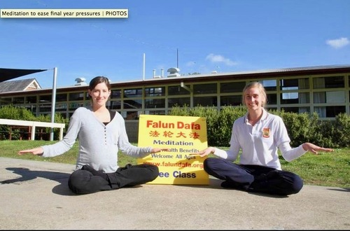 Photo displayed on the 3rd page of the newspaper (screenshot of The Stawell Times-News website)