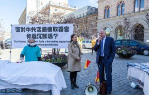 Ethan Gutmann speaks out against China's forced organ harvesting crimes.
