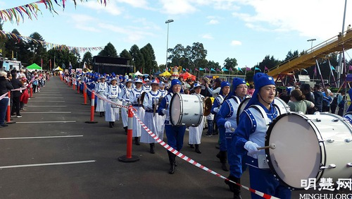 Practitioners participated in the annual cultural festival in Blacktown, West Sydney once again on May 29, 2021.