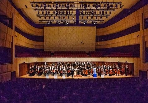 Shen Yun Symphony Orchestra at the Daegu Concert House in Daegu, South Korea, on September 30, 2018.