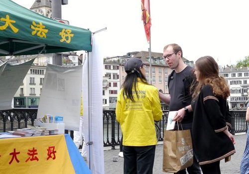 Collecting signatures in Zurich