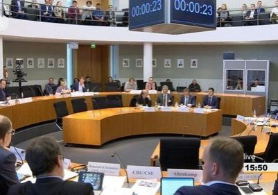 A hearing on the human rights situation of religious minorities in China was held on May 8 by the German Bundestag's Committee on Human Rights and Humanitarian Aid.